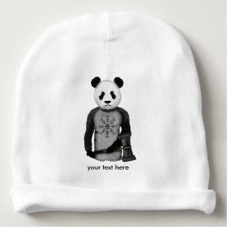 Panda avec un marteau de guerre de Viking Bonnet De Bébé