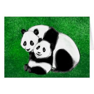 Panda Bears.jpg Cartes De Vœux