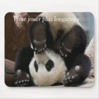 Panda bébé tapis de souris