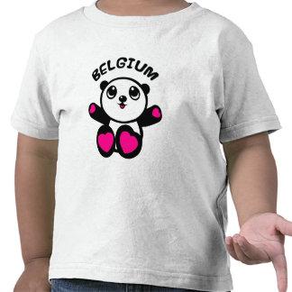Panda Belgique de panda T-shirts