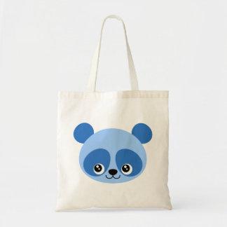 Panda bleu sac fourre-tout