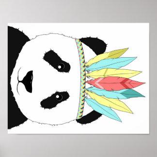 Panda dans le style posters