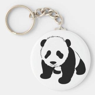Panda de bébé porte-clef