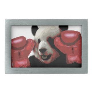 Panda de boxe boucle de ceinture rectangulaire