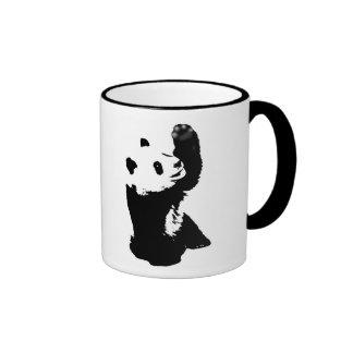 panda de caneca mug ringer