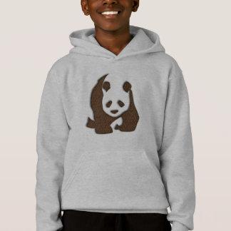Panda de chocolat hoody