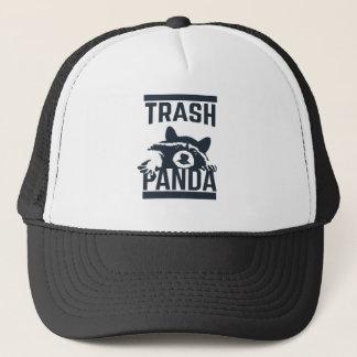 Panda de déchets casquette