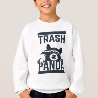 Panda de déchets sweatshirt