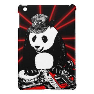 Panda de disc-jockey coque pour iPad mini