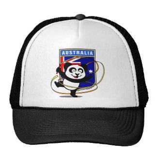 Panda de gymnastique rythmique de l'Australie Casquette Trucker