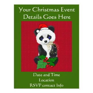 Panda de Noël Prospectus En Couleur