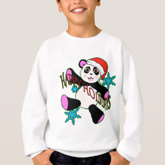 Panda de Noël Sweatshirt