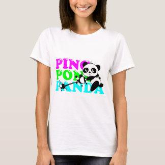 Panda de ping-pong t-shirt