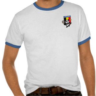 Panda de tennis de la Belgique T-shirt