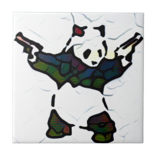 Panda de tueur carreau