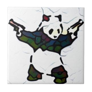 Panda de tueur petit carreau carré