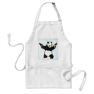 Panda de tueur tablier