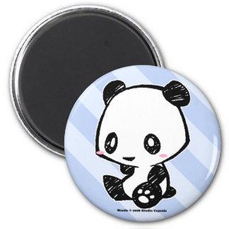 Panda de Weetle Magnet Rond 8 Cm