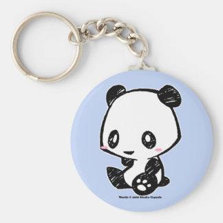 Panda de Weetle Porte-clé Rond