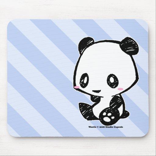 Panda de Weetle Tapis De Souris