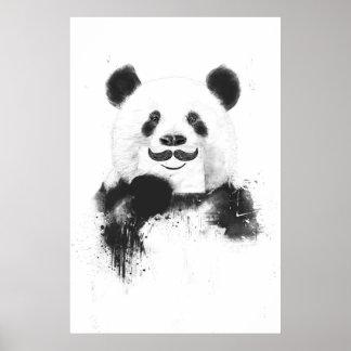 Panda drôle posters