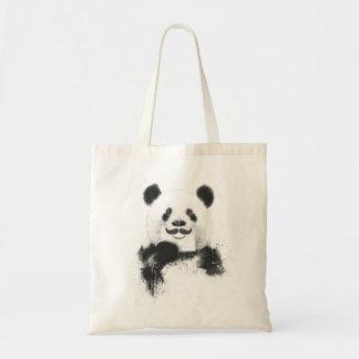 Panda drôle sac de toile