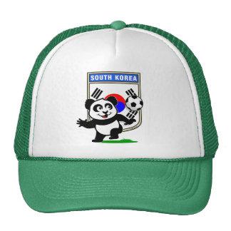 Panda du football de la Corée du Sud Casquette De Camionneur
