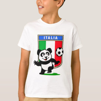 Panda du football de l'Italie T-shirt