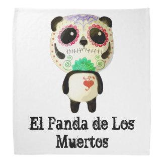Panda du jour des morts bandanas