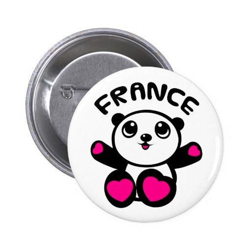 Panda France de panda Pin's