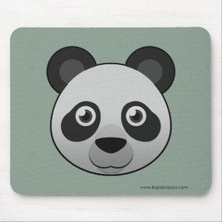 Panda géant de papier tapis de souris