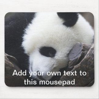 Panda géant Mousepad Tapis De Souris
