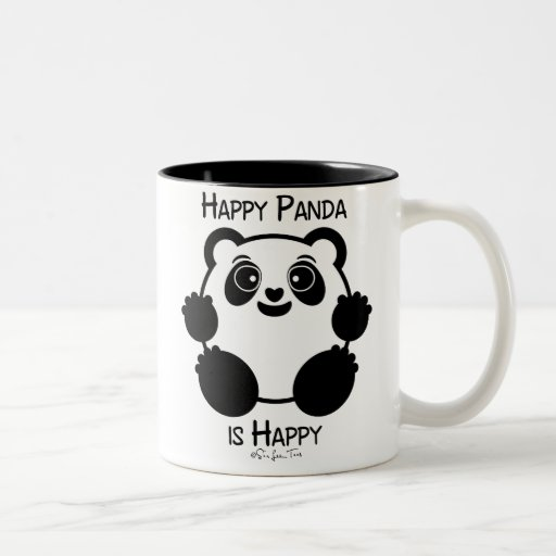 Panda heureux tasse