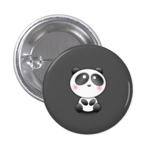 Panda mignon badge
