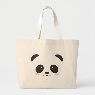 Panda mignon grand tote bag