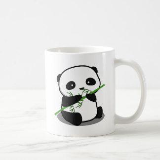 Panda mignon mug blanc