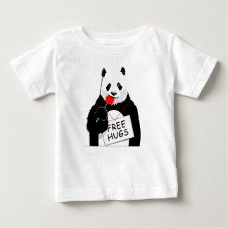 Panda mignon t-shirt pour bébé