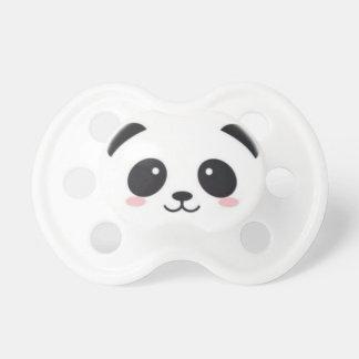 Panda mignon tétine
