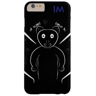 Panda noir coque iPhone 6 plus barely there