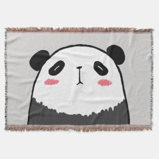 Panda paresseux couvre pied de lit