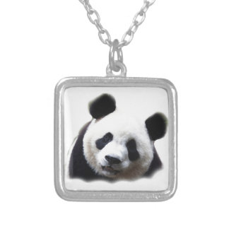 Panda Pendentif Carré