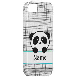 Panda personnalisé par Aqua Coques iPhone 5