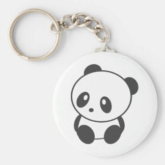 Panda Porte-clé Rond