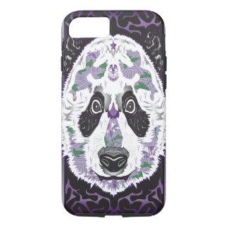 Panda pourpre coque iPhone 7