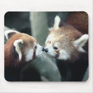 Panda rouge #1-Mousepad Tapis De Souris