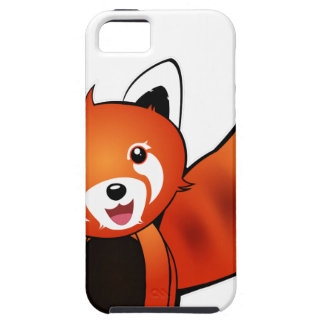 Panda Rouge Coques iPhone 5 Case-Mate