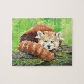 Panda rouge puzzle