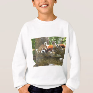 panda rouge sweatshirt