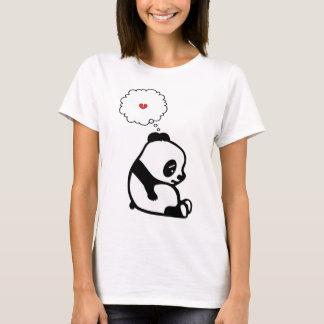 Panda triste t-shirt