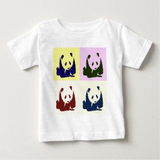Pandas de bébé d'art de bruit t-shirt pour bébé